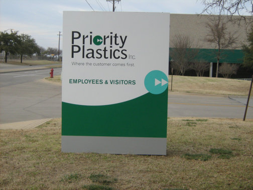 Cabinet Signs Dallas | Custom LED Signs Dallas | Hancock Custom Signs | Priority Plastics