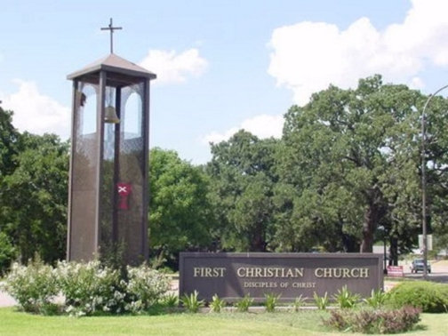 Church Signs in Dallas TX and Surrounding Areas | Hancock Sign Company | First Christian Church's Sign