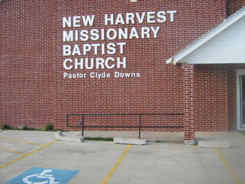 Custom Signs in Dallas Area | Hancock Sign Company | New Harvest's Church Sign